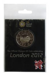 2012 £5 London 2012 Small Pack Royal Mint Brilliant Uncirculated pack for sale